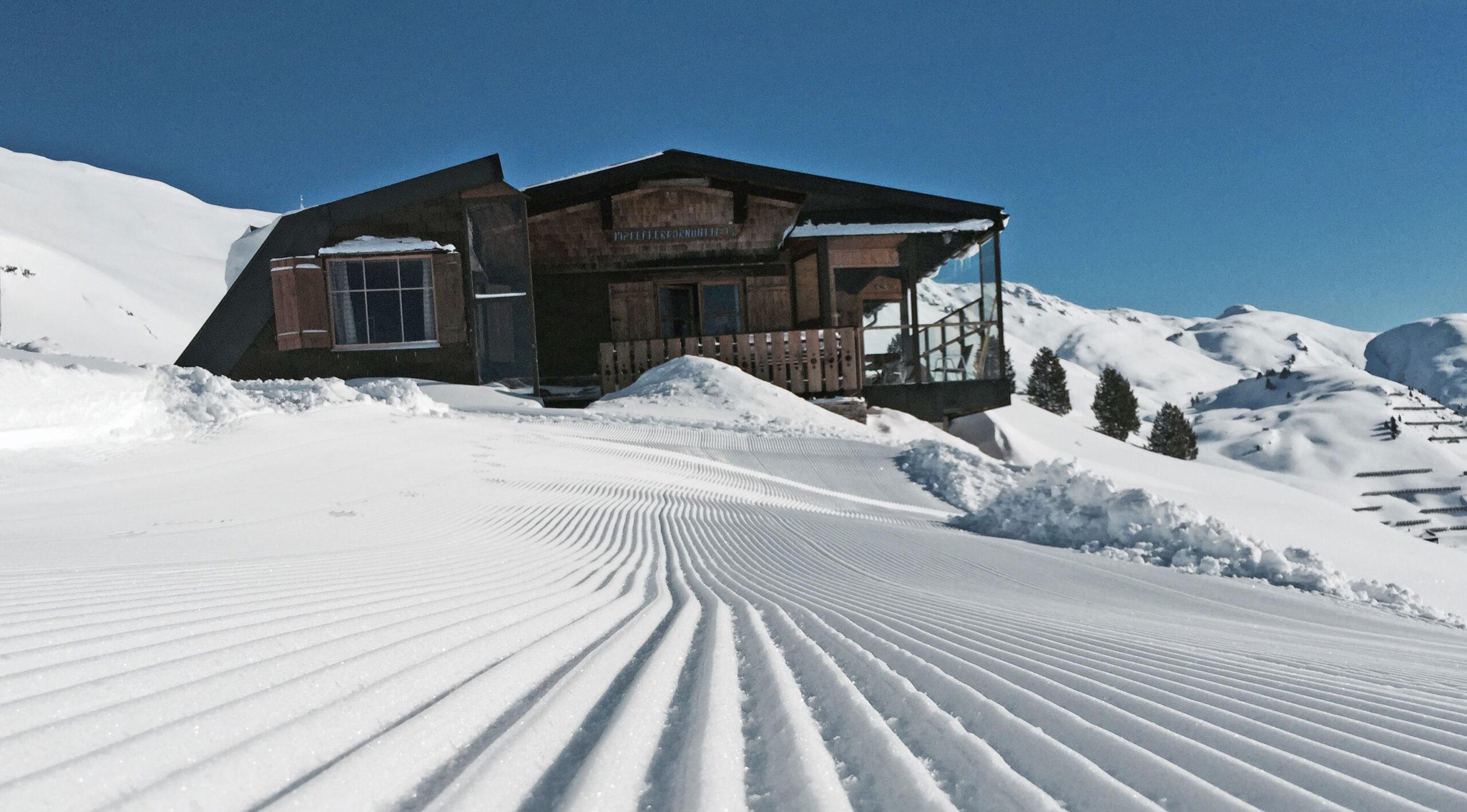 Pfefferkornhütte mieten | Ski Arlberg Winter | Hütte mieten Österreich